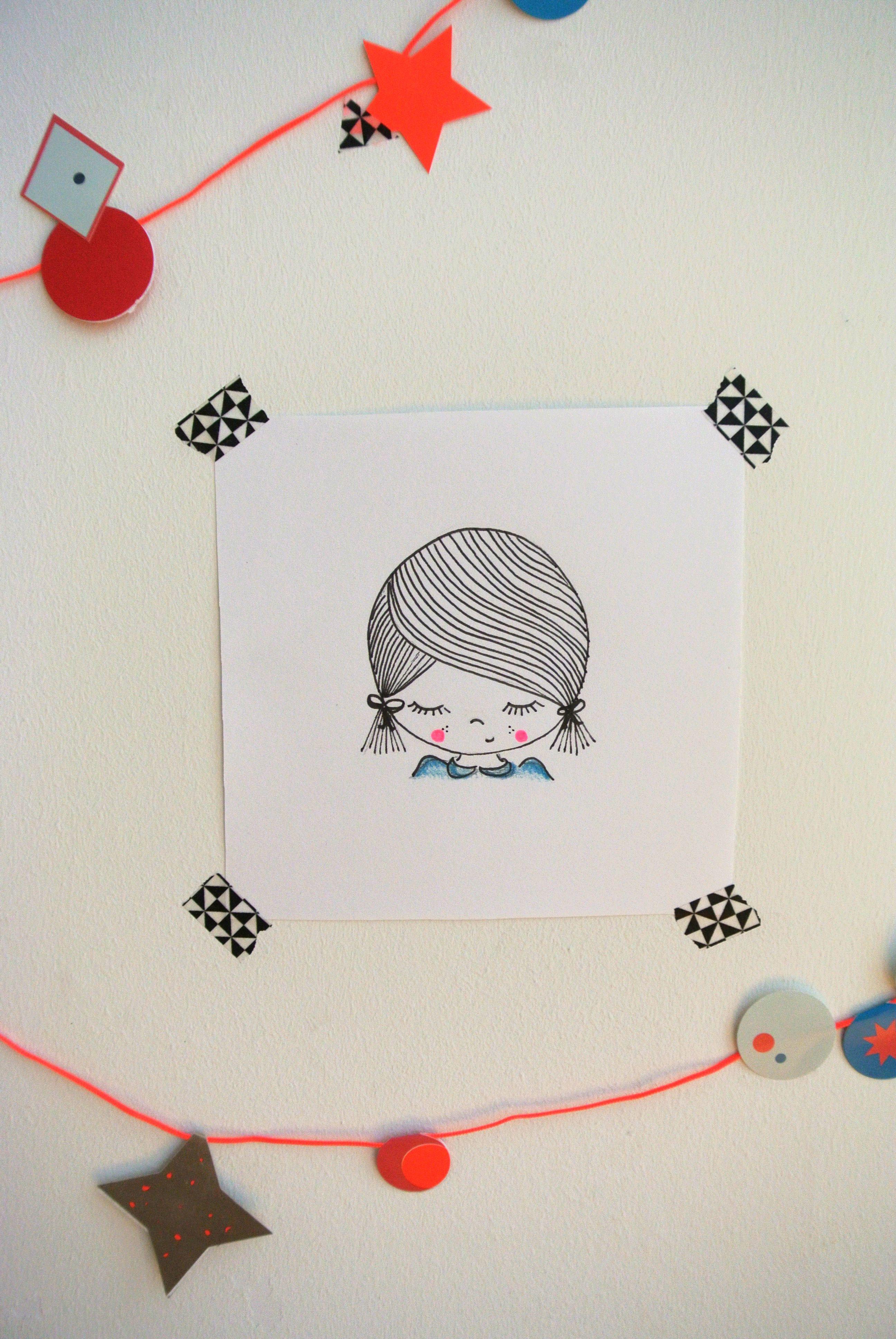 Kids Room | Illustration | Poster | Kinderkamer Www.kinderkamervintage.nl