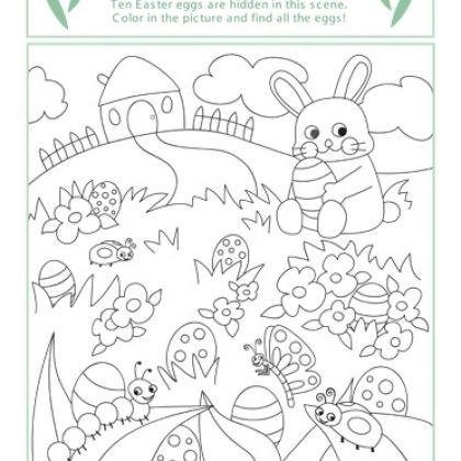 Easter Bunny Color Page Idee Pasquali Disegni Da Colorare Idee Per Bambini