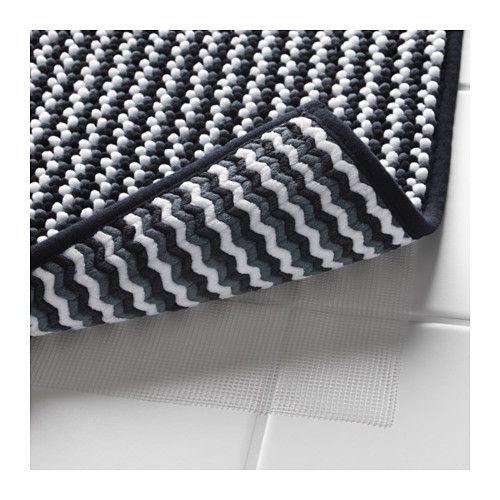 Badematten Schwarz iggsjön badematte schwarz weiß grau bathroom bath mats and
