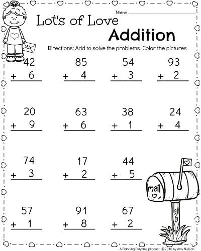 1st Grade Math Worksheets Best Coloring Pages For Kids Kindergarten Math Worksheets Free Kindergarten Math Worksheets 1st Grade Math Worksheets