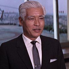 Teru Shimada as Mr. Osato   You Only Live Twice (1967)