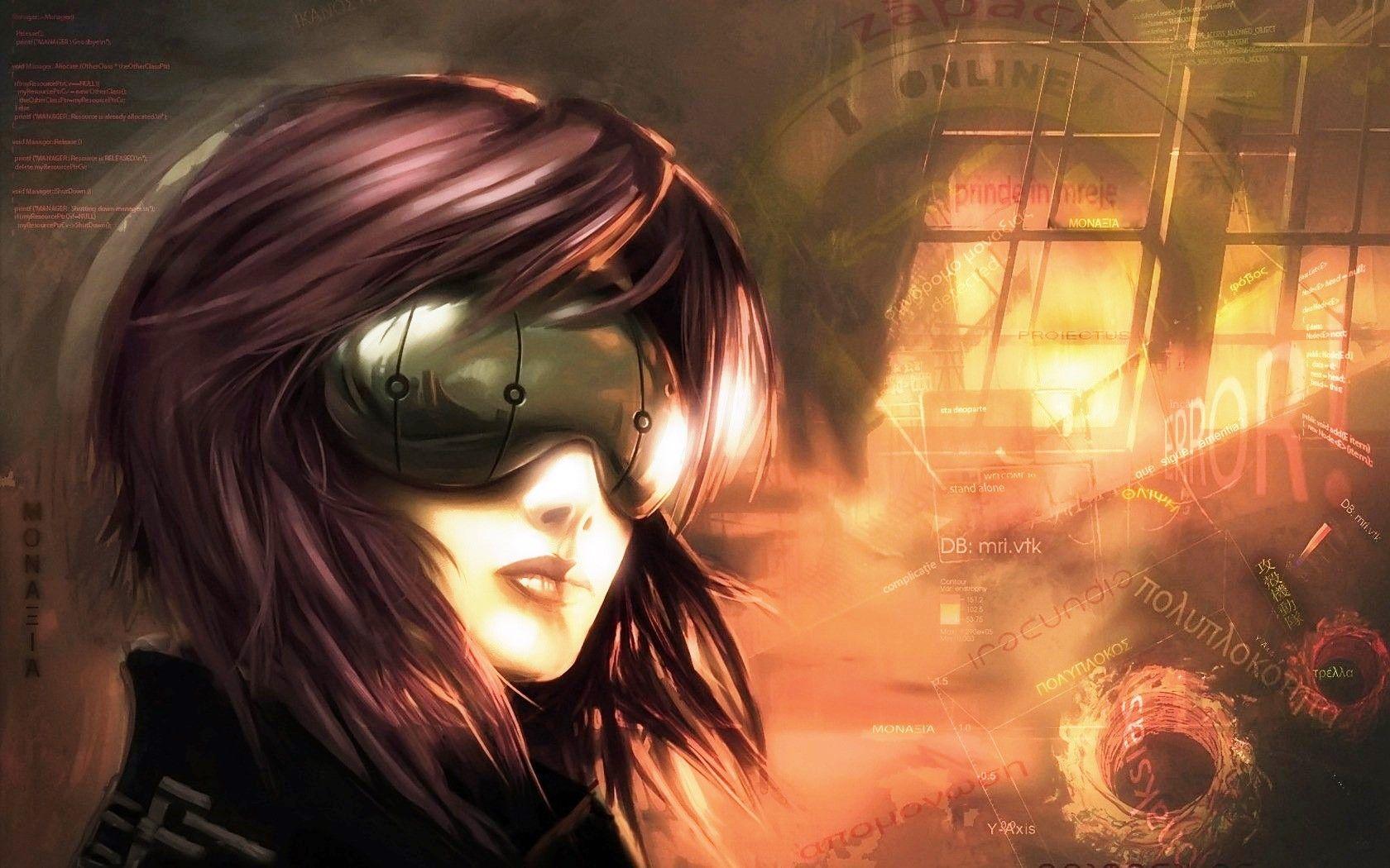 Motoko Kusanagi Ghost In The Shell Anime And Manga Series