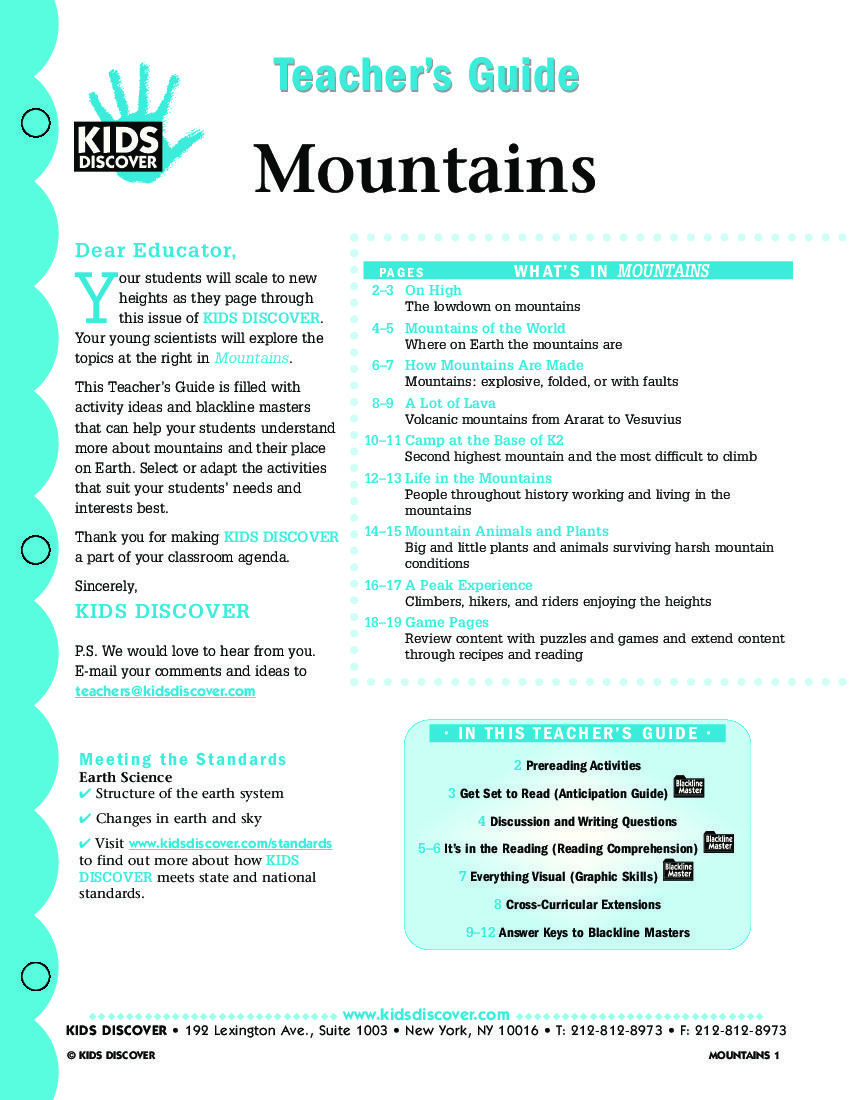 Mountains | KIDS DISCOVER