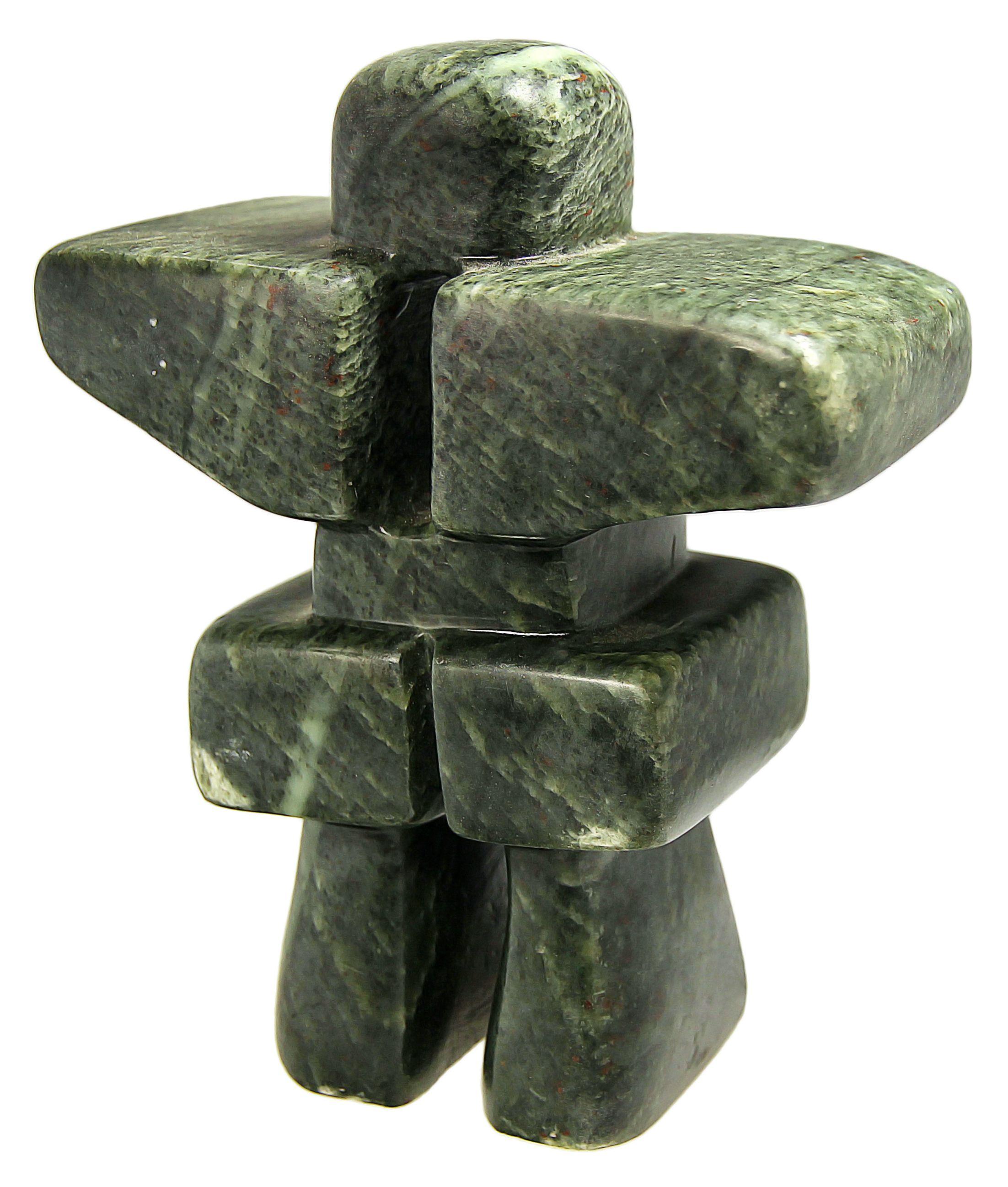 Soapstone d inukshuk carving rubble road kits