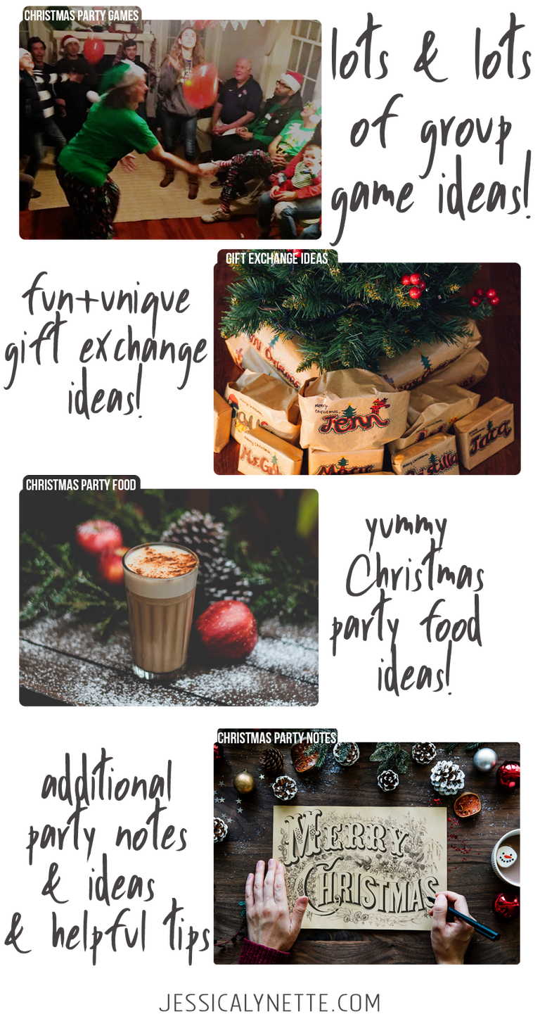 Christmas Party Ideas and Games | Christmas | Pinterest