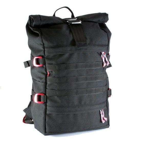 Flash Molle Rolltop Backpack Ryukzak Kiberpank Moda Modeli