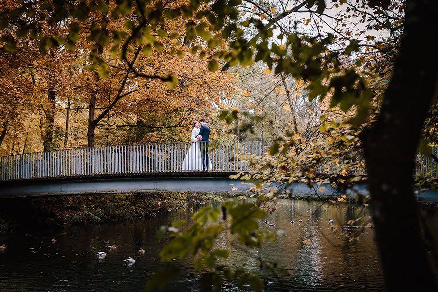 Stadtpark Erding Hochzeitsfotograf Munchen Hochzeit Hochzeitsfotograf