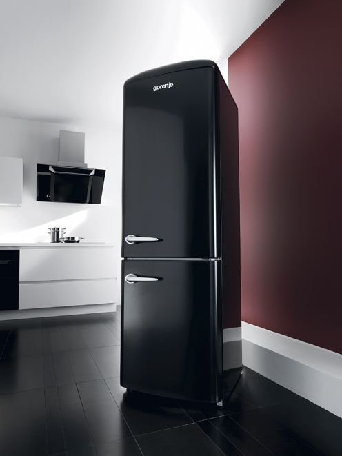 Gorenje Retro Black | Home Decor | Pinterest | Retro and Kitchens