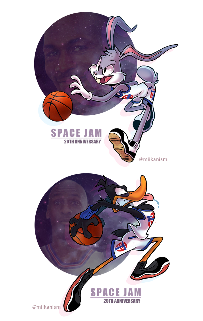 Space Jam 20th By Miikanism On Deviantart Looney Tunes Wallpaper Looney Tunes Space Jam Looney Tunes Show