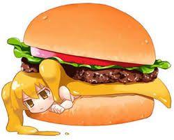 Kết quả hình ảnh cho anime food girl