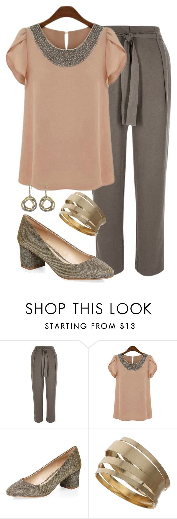 Teacher Outfits on a Teacher's Budget 202 by allij28 on Polyvore featuring River Island, Dorothy Perkins, Topshop and Luxiro