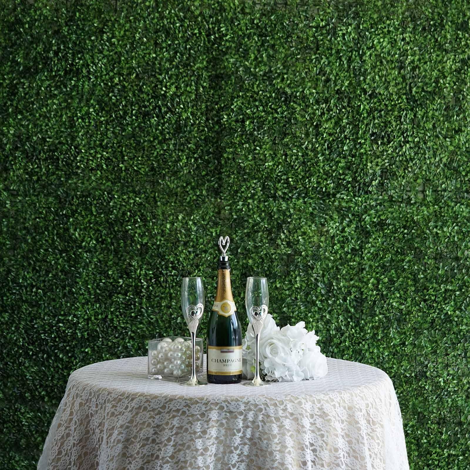 11 sq ft 4 panels artificial boxwood hedge genlisea on interior using artificial boxwood panels with flowers id=79784