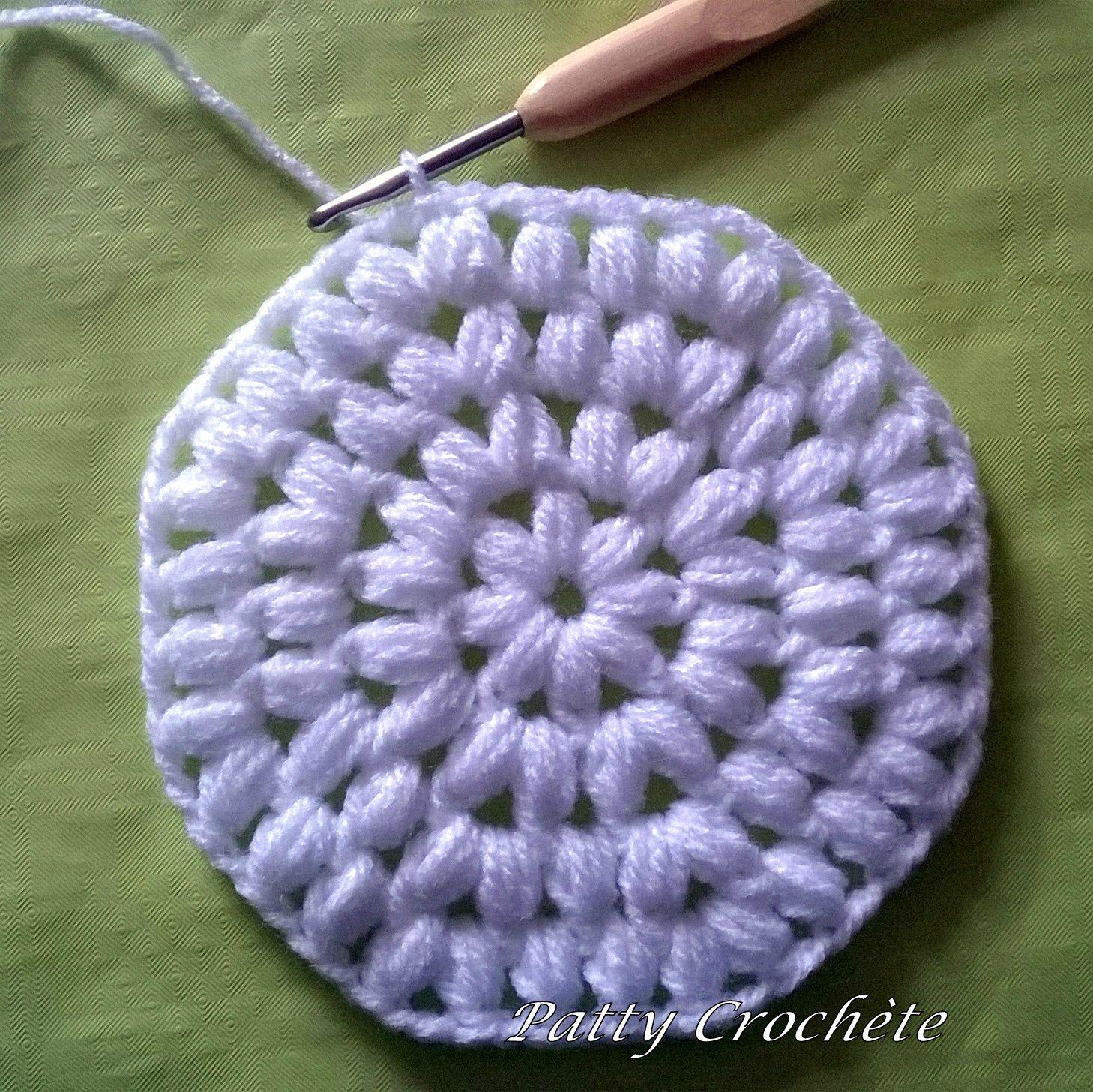 Octogone Géant, le tuto (DIY) - Patty crochète | Crochet motifs, Tricot et crochet et Chaussons ...
