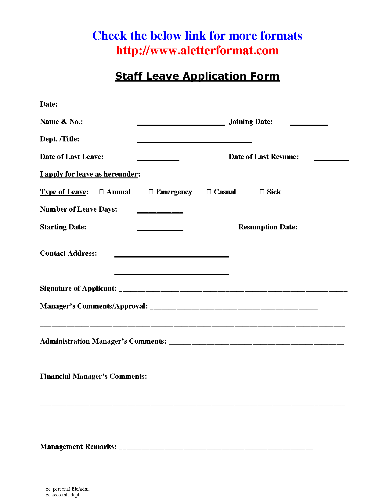 Application Letter Format Leave  Order Custom Essay Online  Form
