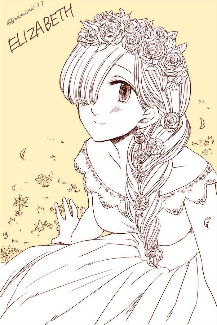 Elizabeth Liones Nanatsu No Taizai Anime Manga
