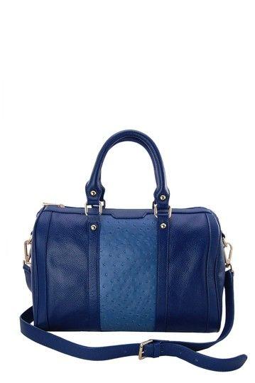 Cobalt Blue Satchel