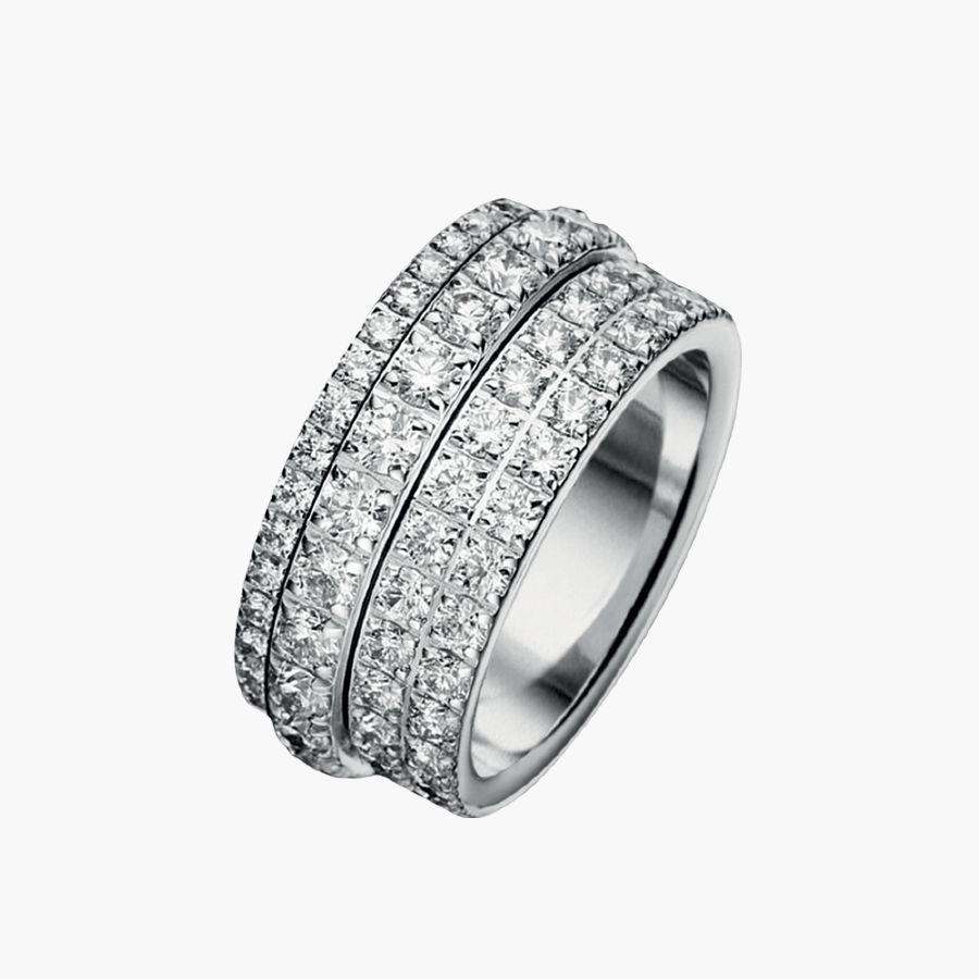 rings eccentric possession size piaget engagement onxy i diamond ring white gold us