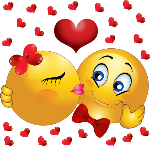 Image result for kissing emoticons