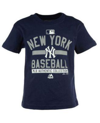 Majestic Boys' New York Yankees On Field Property T-Shirt