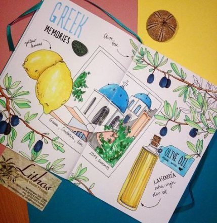 Trendy travel drawing art illustrations ideas #traveltogreece