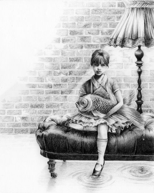 Drawings byCourtney Brims  Courtneys intricate pencil...