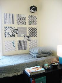 The Lovely Side: Monica's Black and White Dorm at SCAD