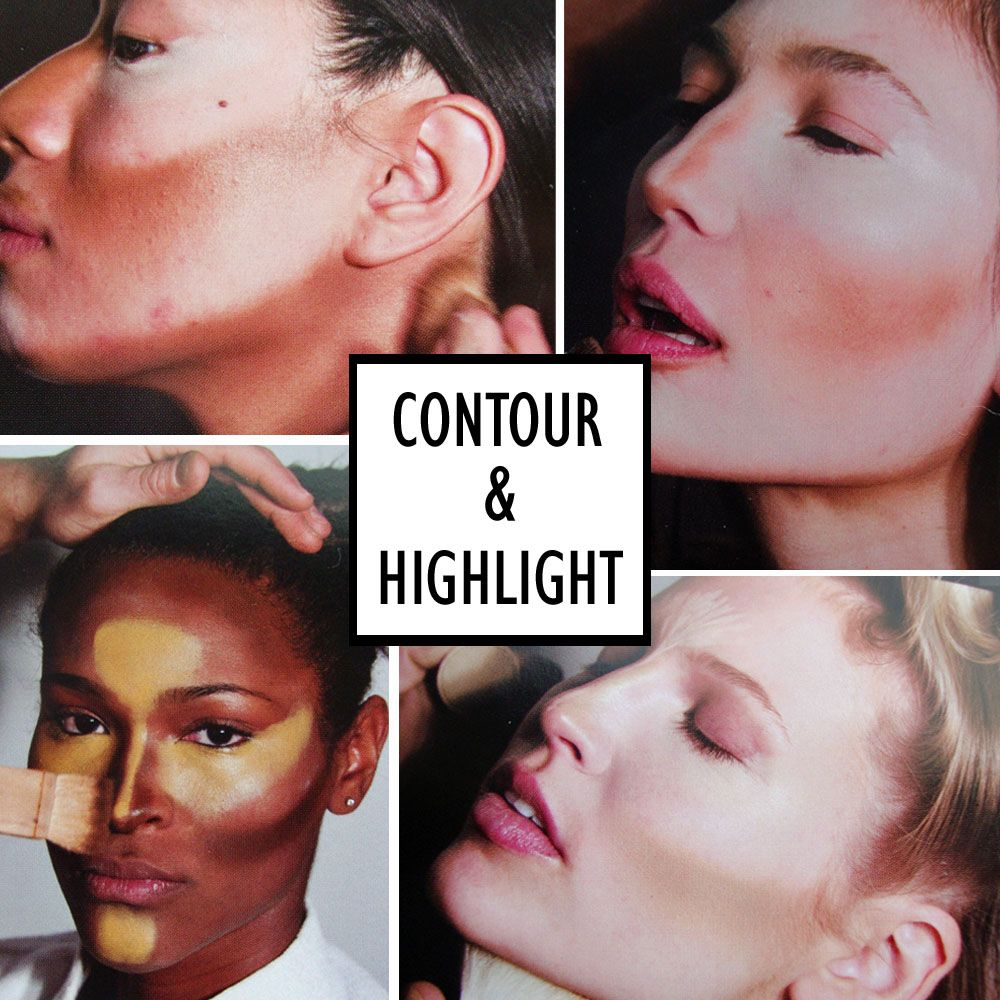 contour & highlight Contouring and highlighting