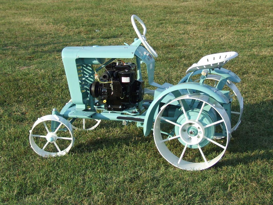 Our Garden Tractors Homemade Tractor Garden Tractor Tractors