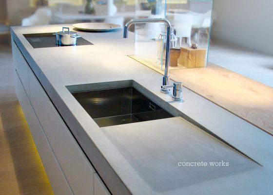 Massanfertigungen | Küchensysteme | Beton Küche | Design. Check it out on Architonic