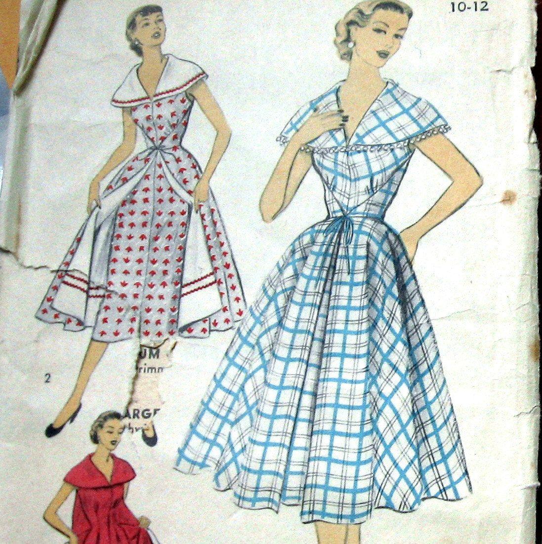 womens wrap dress pattern