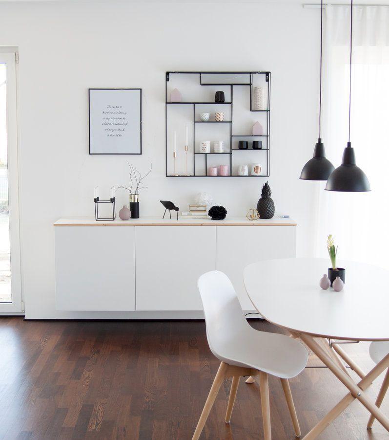 Schaut mal rechts und links vom sideboard sonne schwarz lumizil wohnzimmer esszimmer und - Stylische wohnzimmer ideen ...