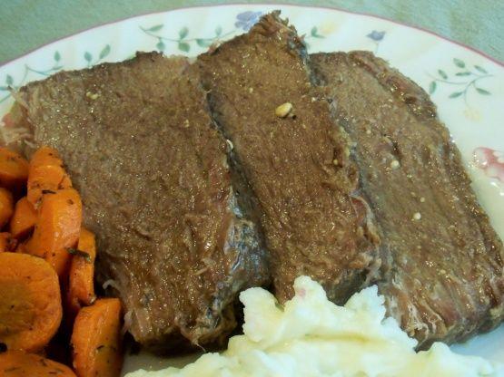 V S Crock Pot Bottom Round Roast Recipe Food Com Recipe Bottom Round Roast Recipes Roast Recipes Recipes