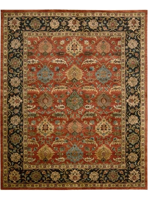 This Jaipur Brick Collection Rug Ja35 Is Manufactured By Nourison The