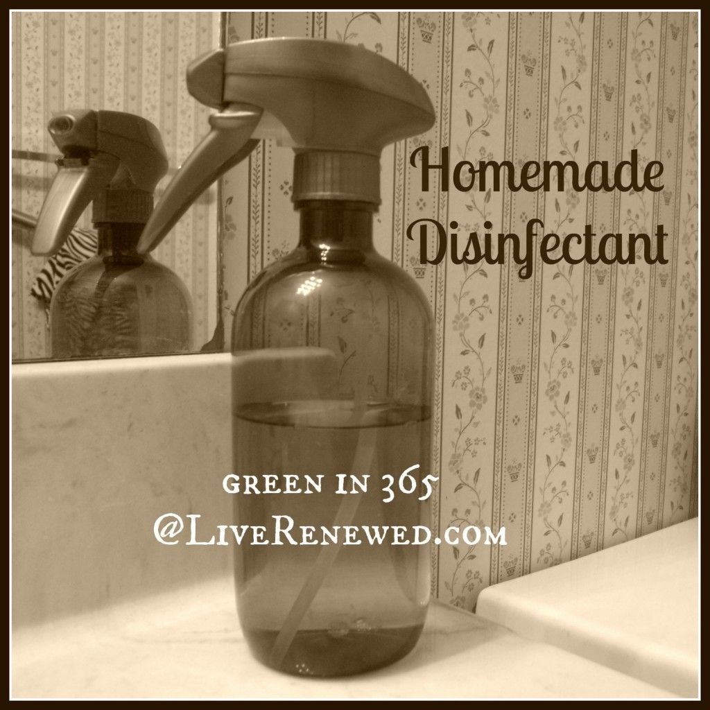 How To Make Homemade Disinfectant Homemade Cleaning Products