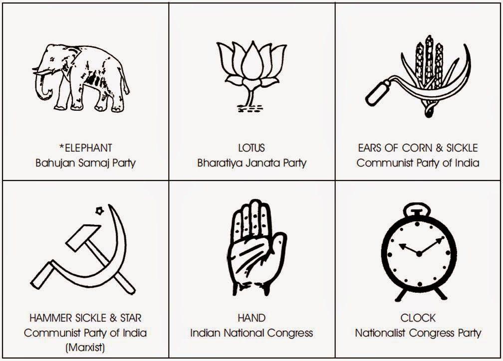 Pin Ni Manoj Manu Sa Indian Political Party Flags And Symbols