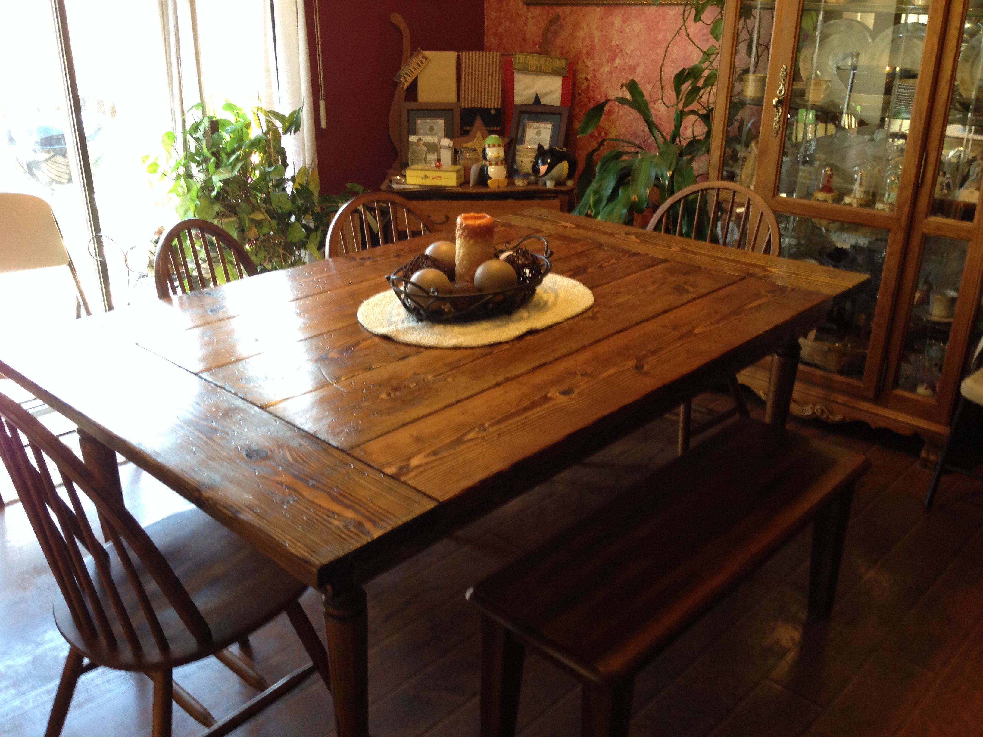 Country kitchen table pretty interiors and decor pinterest for Kitchen table decor