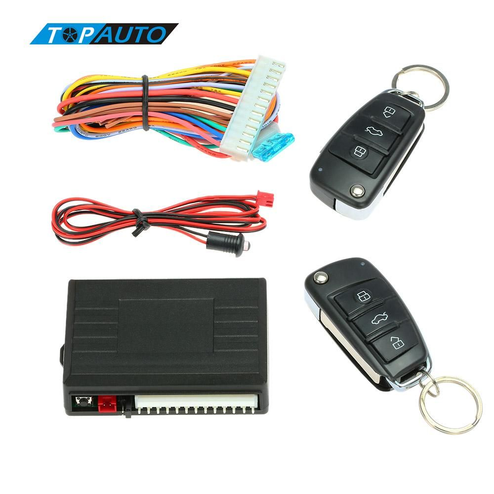 Free Shipping Car Alarm Systems Door Central Lock With Remote
