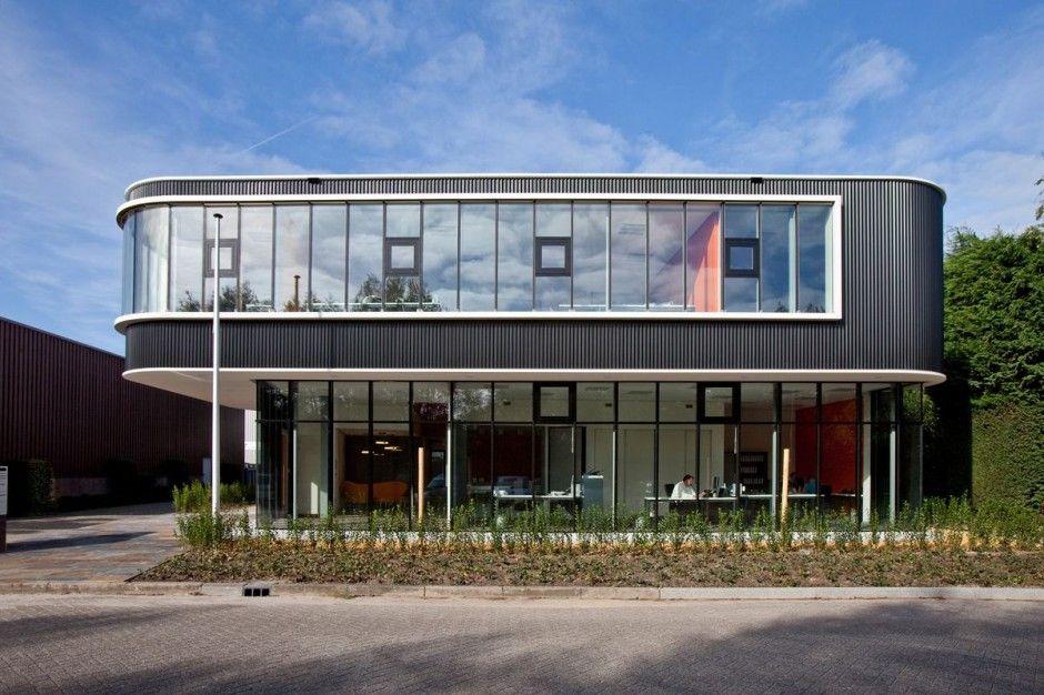 Novel best the verkerk group office building design by for Minimalist house construction
