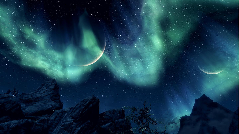 Skyrim Brighter Nights