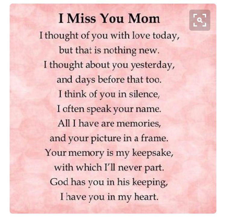 Missing you so much momma  -R- | Grief ~ Losing Mom n Dad