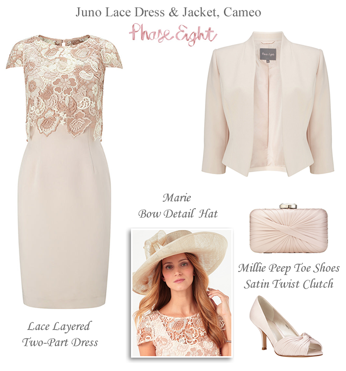 Phase Eight Spring Mother of the Bride Outfit | Shoe bag, Layering ...