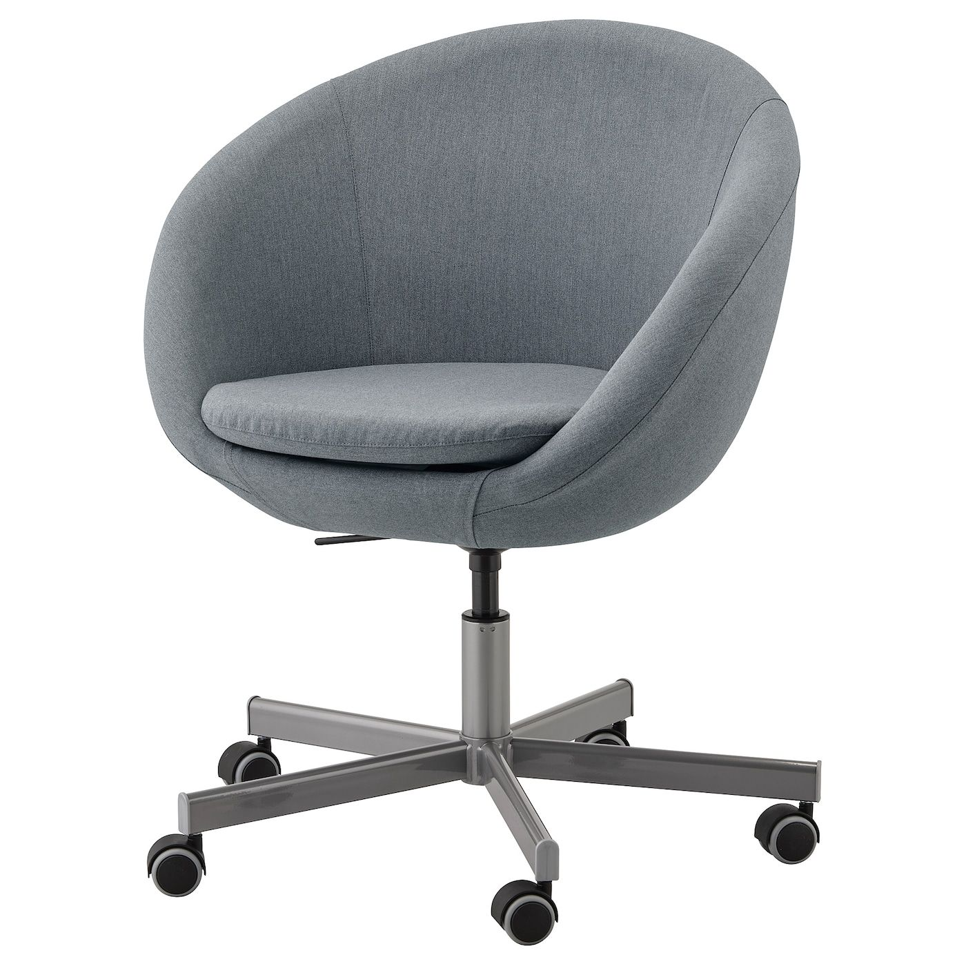 Skruvsta Swivel Chair Vissle Gray Ikea In 2020 Swivel Chair Chair Ikea Chair