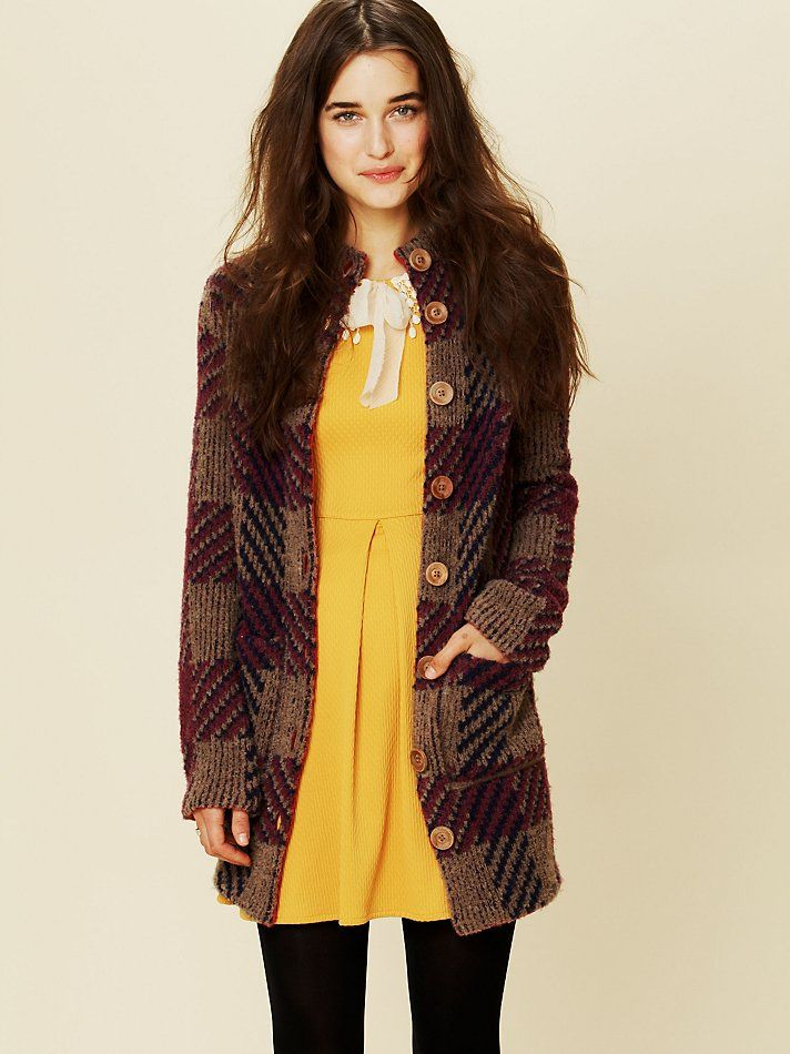 Free People Miss Polly Sweater Jacket, $248.00