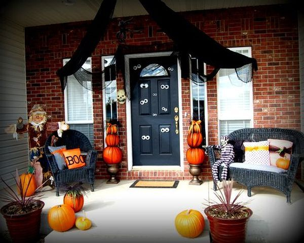 The Best 35 Front Door Decors For This Year\u0027s Halloween Front door - where can i buy cheap halloween decorations