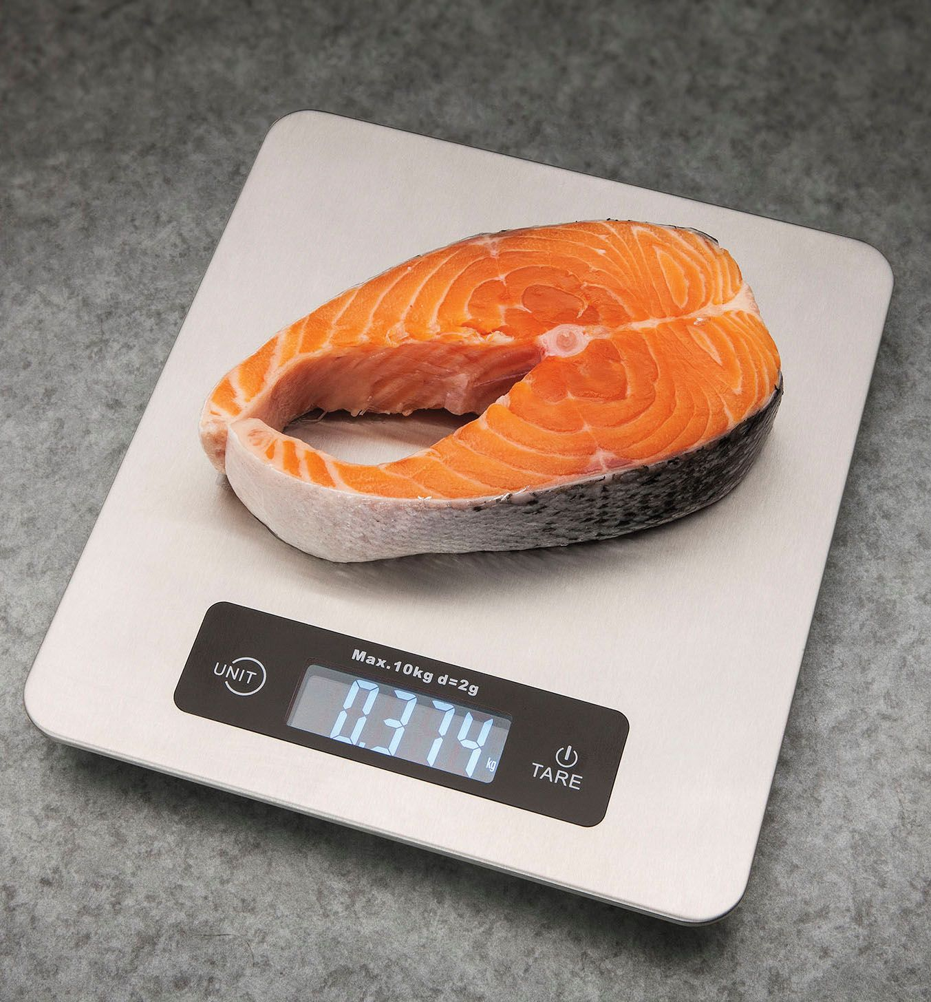 Weigh your portions with the #Kuraidori #kitchen scale  It holds up