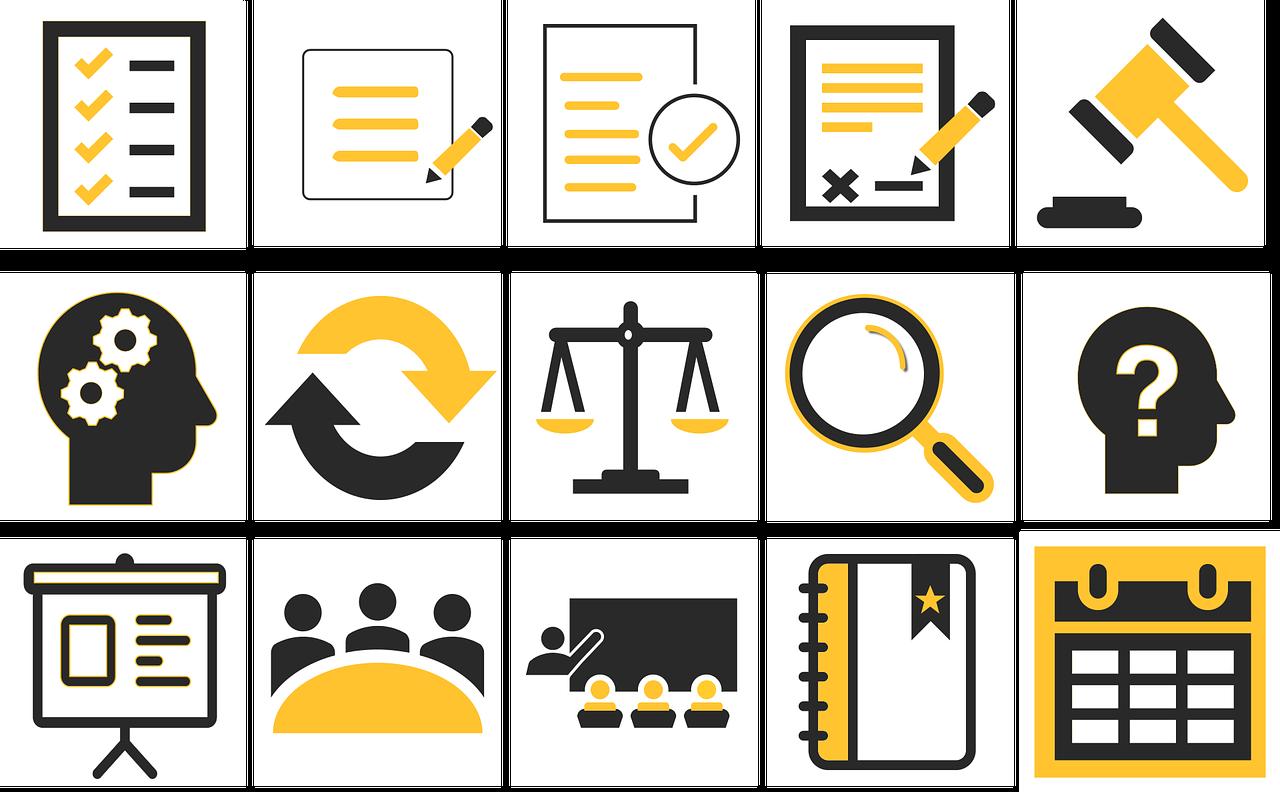 Free Image on Pixabay Education, Icons, Education Icons