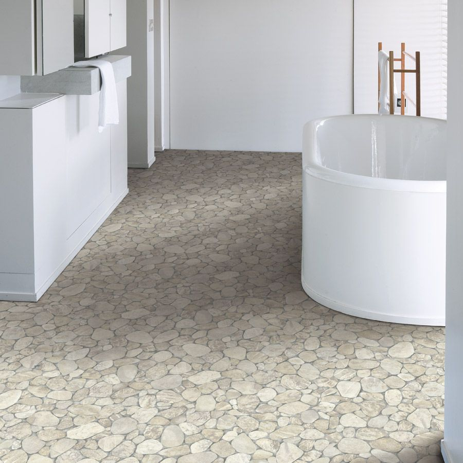 Vinyl flooring bathroom - Stylish With Vinyl Bathroom Flooring