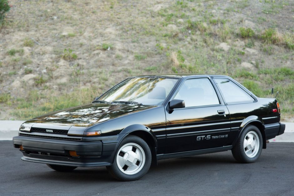 1987 Toyota Corolla Gt S Toyota Corolla Toyota Corolla