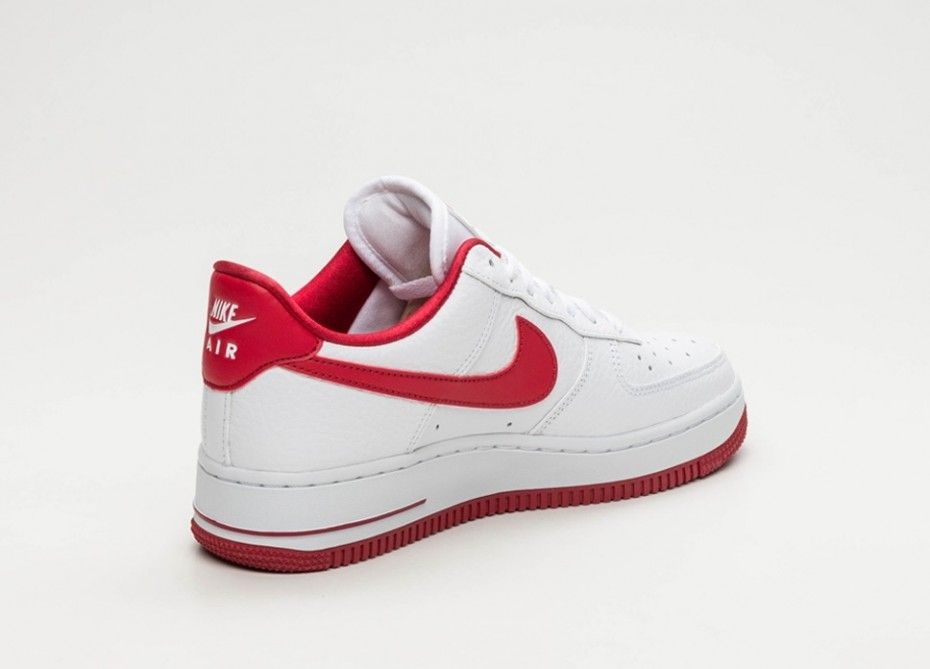 meilleure sélection 52865 c2206 Nike Air Force 1 Femme Blanc Rouge | Shoes | Sneakers nike ...