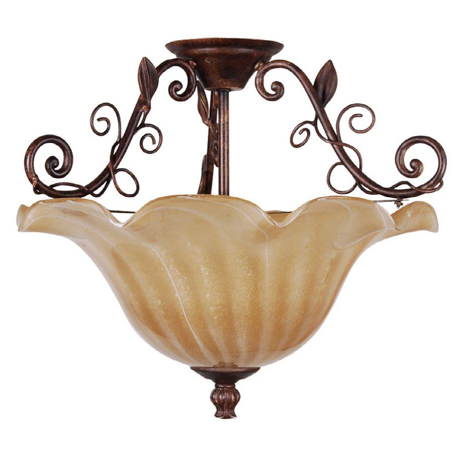 Portfolio 16 Semi Flush Mount Light At Lowe S Canada Find Our Selection Of Ceiling Lights The T Guaranteed With Match